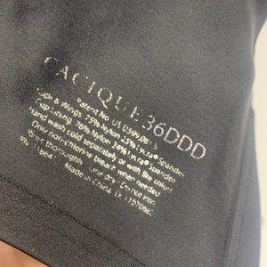 Cacique Intimates & Sleepwear - Cacique Black Unlined No Padding Wired Bra 36DDD
